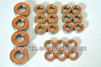 High Performance CEN MATRIX steel bearing kits with different rubber seal color