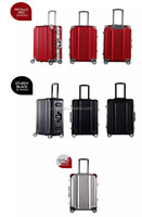 2016 aluminium material trolley luggage, suitcase,20,24,28 luggage