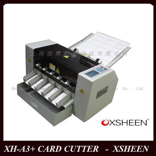 Xh a3 Business Card Cutting Machine Name Card Cutter From