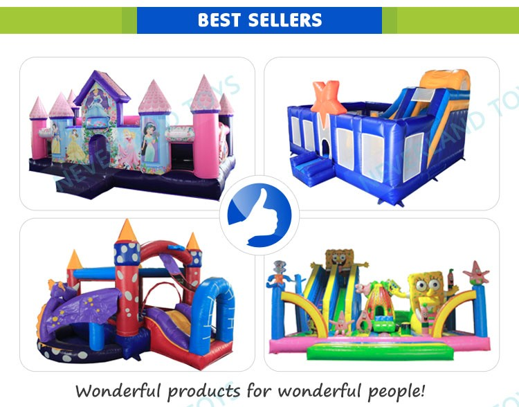 Best Selling Colorful Inflatable Combo / castle inflatable combo for kids