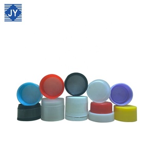28mm wholesale customize PP plastic bottle cap cover lid for water container toiletries essential oil