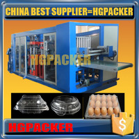 plastic chicken egg tray forming machine