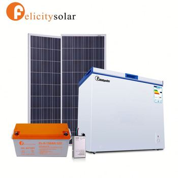 Guangzhou Felicity solar dc small display counter commercial refrigerator