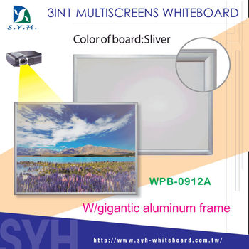 3 in 1 Multiscreens interactive Whiteboard