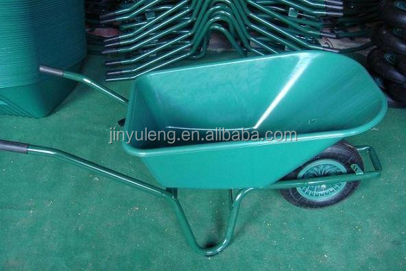WB6414 power plastic tray wheel barrow for Europe and Australia market
