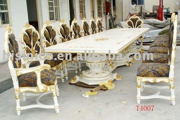 European Antique Long Big Size Dining Table16 PersonDining