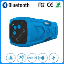 Promotional new design business gifts 2015 bluetooth speaker with high quality wireless surround sound