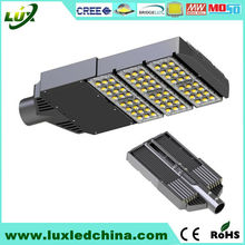 Ultra-thin design ce rohs Cree chips Meanwell 100W 120w led street light components