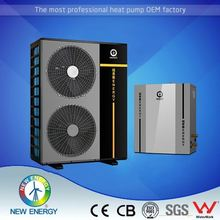 EVI DC inverter geothermal/ground source heat pump R410A water outlet pipe for air conditioner