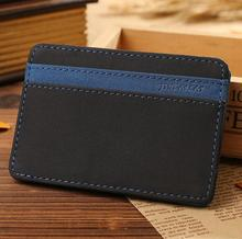 Yiwu stock fashion magic wallet men slim wallet