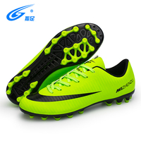 High quality soccer shoes AG adult outdoor football shoes small MOQ