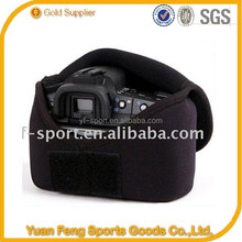 High Quality neoprene fashion leather camera pouch bag