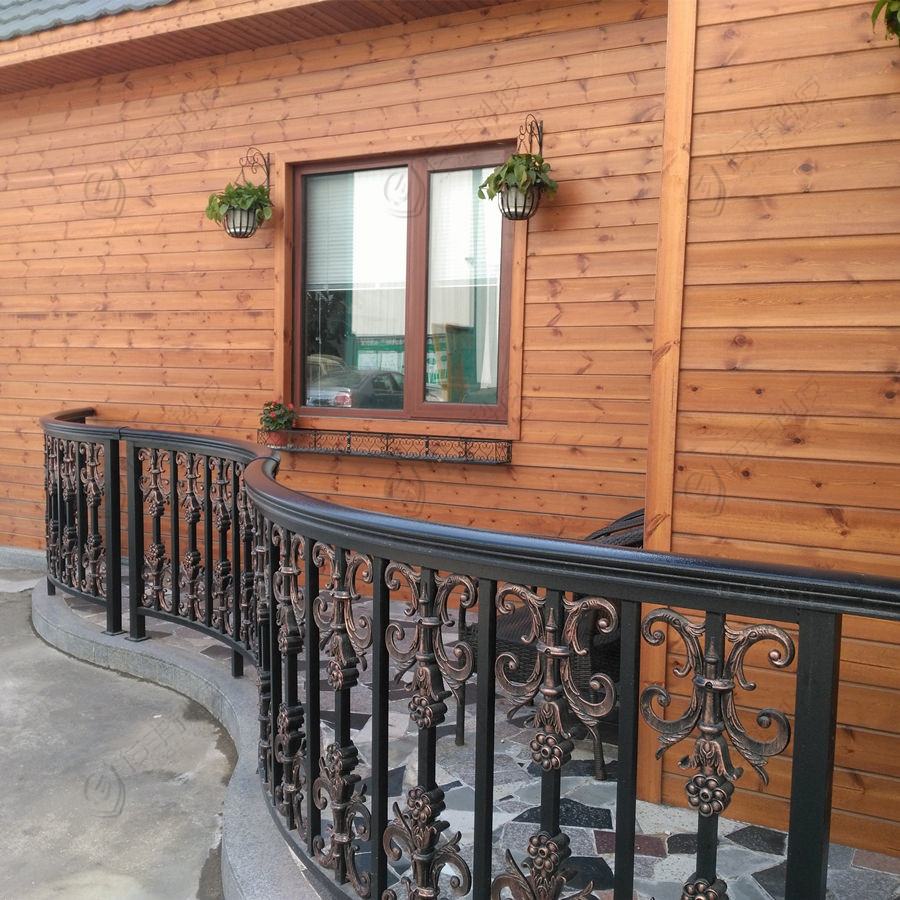 Best pricing powder coated aluminum Balcony Railing/Deck Railing/Grill Terrace Handrail Designs