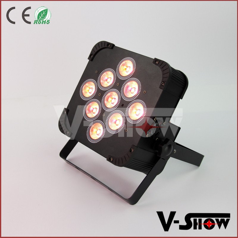 Hottest 9x18w rgbwa uv 6in1 battery wireless led uplighting colored led lights for wedding table decorations