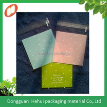 resealable small plastic cellophane bag