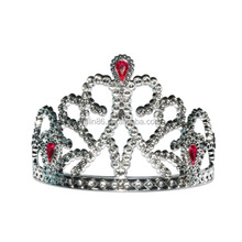 cheap plastic beauty queen pageant crown and tiara for girls party