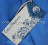garment industry printed paper string hang tags