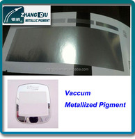 VMP-1074EA China made 7 micron standard mirror effect vaccum metallized pigment