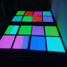 3D video Madrix ceiling DMX RGB LED panel light for disco