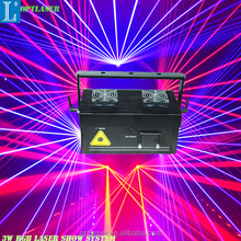 Highest quality Lasers Show Systems 3W RGB logo Projector Devices for shows, advertising.