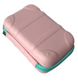 "GC-EVA Hardtop HOT Style Huge Capacity Girls 8""*4"" (Blue) Cosmetic Makeup EVA Case"