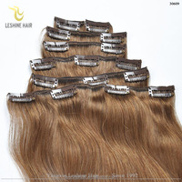 Ali UK Wholesale Leshine Factory 200 Grams Clip In Hair Extensions