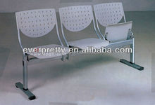 3 Seater School and Office Furniture Wholesale Folding Cheap Waiting Room Outdoor Plastic Chairs