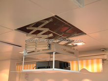 Motorized Ceiling Mount for Projector Lift with Remote Control