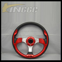 Lower Price Universal Racing Flat 320MM Sport Steering Wheel For Car