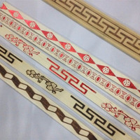 printed wood moulding for india market