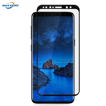 9H HD Full Coverage Edge Bubble Easy Installation Tempered Glass Screen Protector for Samsung Galaxy S9 S9 Plus S8 S8 Plus