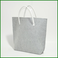 Promotional Recycled Go Shopping Felt Tote Bag gift bag