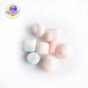 halal wholesale mini cube crispy marshmallow with filling