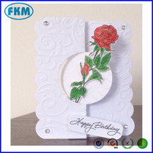 Handmade Greeting Card Making Kit Elegant Rose made in China