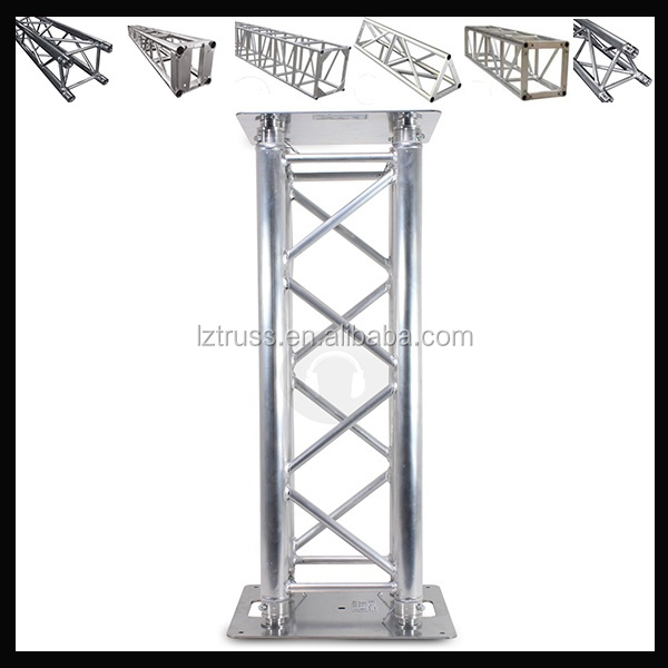 aluminum 290x290mm small stage lighting truss