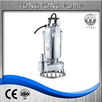 vertical submersible sewage as water suction pump