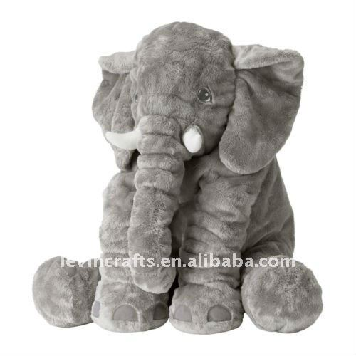 large elephant stuffed plush toy