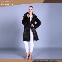 Wholesales Ladies Elegant Winter Mink Fur Coat Original Natural Mink Fur Jacket