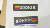 custom 3D self adhesive metal logo,Apple computer metal logo label