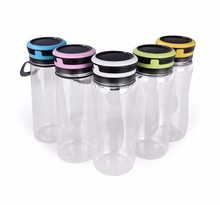 Multi-functional Superior Quality Easy Handle Tritan Water Bottle LED Solar Camping Lantern