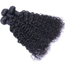 New Fashion Black Women Natural Color Unprocessed Remy Hair Extension Kinky Curly Malaysian Virgin Hair