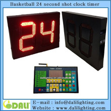 electronic led display basketball shot clock with remote controlor