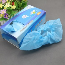 Cycling hdpe Plastic non woven disposable surgical plastic automatic shoe cover machine