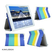 hello summer color block flip leather case cover for ipad air 8.1 tablet