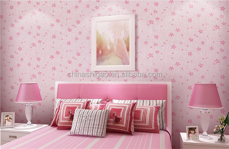 SG W248 country style design floral vinyl wallcovering 3d wall paper For Restaurant,Home, Office,badroom