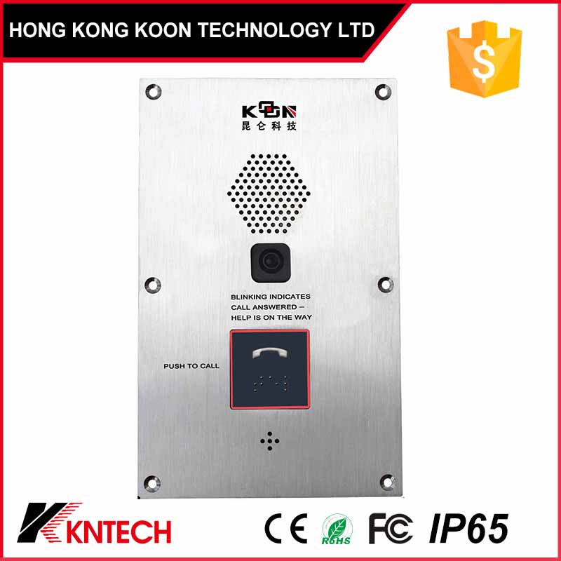 SD-103 Elevator telephone one button auto dial led indicator emergency lift intercom equipment