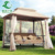 2016 Hottest Product Double seat Wrought Iron Garden swing