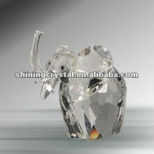 new arrival Cheap Handcrafted Crystal African Elephant Figurine