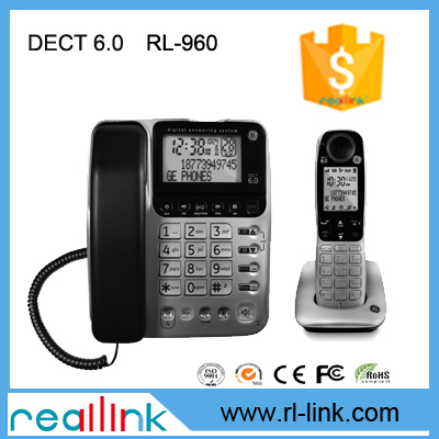 Cordless phone system with caller ID/call waiting