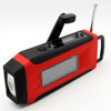 Solar hand crank motorcycle fm radio waterproof